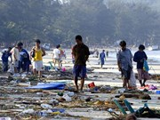 Rememoran en Tailandia a víctimas de tsunami en 2004