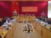Comité Directivo de región noroeste traza orientaciones para 2018