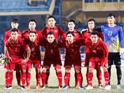 Selección vietnamita de fútbol se prepara para Campeonato Asiático en China