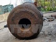 Descubren cañón antiguo en isla vietnamita