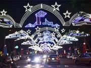 Diferentes actividades recreativas en Ciudad Ho Chi Minh en saludo Año Nuevo
