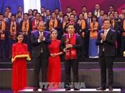 Honran a destacados empresarios jóvenes vietnamitas en 2017
