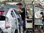 Producción industrial de Tailandia sobrepasa cifra prevista