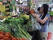 Hanoi por garantizar fuentes de productos alimenticios en ocasión del Tet 2018