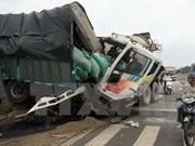 Al menos 29 muertos por accidentes de tránsito en primer día del asueto por Año Nuevo