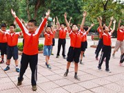 Estatura media de hanoyenses es mayor que en década anterior