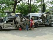 Tailandia: unos 300 muertos por accidentes de tránsito en vísperas del 2018