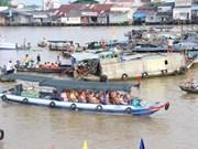 Aumenta llegada de turistas a región sureña de Vietnam en vacaciones del año nuevo