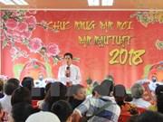 Vietnamitas en Angola se reúnen en Año Nuevo 2018