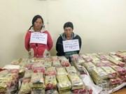 Policía de Dien Bien se incauta cargamento de drogas de cantidad sin precedente