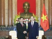 Presidente Dai Quang pide a tribunales de Vietnam y Laos impulsar reformas