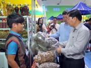 Reportan nutrida participación en primer mercado de ginseng Ngoc Linh en 2018