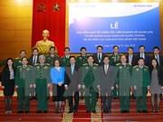 Debutan en Vietnam Departamento de Mantenimiento de la Paz
