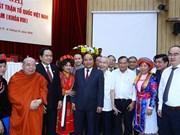 Premier vietnamita: Gobierno comprometido a cooperar con Frente de la Patria