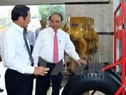 Premier de Vietnam orienta el desarrollo del sector nacional de caucho
