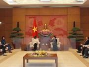 Presidenta parlamentaria de Vietnam valora política exterior de Canadá