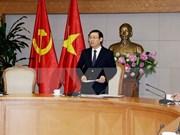 Gobierno vietnamita impulsa gestión de la economía nacional en 2018