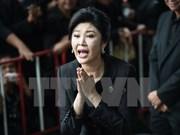 Tailandia confirma presencia de Yingluck Shinawatra en Londres