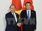 Premier Xuan Phuc: Vietnam concede importancia al desarrollo de asociación con China