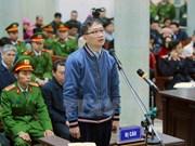 Abrirán otro juicio contra Trinh Xuan Thanh por delito de malversación