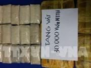 Vietnam decomisa 30 mil cápsulas de drogas sintéticas