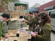Quang Ninh impulsa lucha contra contrabando en zonas limítrofes