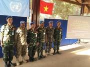 Resaltan aportes de Vietnam al mantenimiento de paz