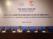 Pronostican a Vietnam un crecimiento económico del 6,65 por ciento en 2018