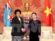 Presidenta del Parlamento de Vietnam destaca participación de Fiji en APPF- 26