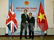 Destaca Secretario de Estado británico oportunidades de cooperación en Vietnam