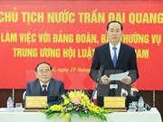Vietnam continuará facilitando actividades de la Asociación de Juristas, afirmó Presidente