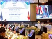 APPF-26 debate asuntos de cooperación y desarrollo en Asia-Pacífico