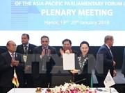 Clausuran en Hanoi XXVI Reunión Anual de APPF
