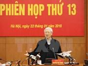 Dirigente partidista de Vietnam exhorta a luchar sin cuartel contra corrupción