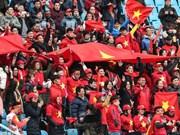 Vietnam Airlines operará vuelos especiales hacia Changzhou para la final del Campeonato Asiático de Fútbol