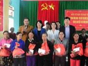Vicepresidenta de Vietnam entrega donaciones a personas desfavorecidas