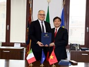 Localidades vietnamita e italiana establecen vínculos de solidaridad y cooperación