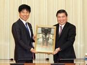 Ciudad Ho Chi Minh por fortalecer cooperación con Japón