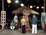 Binh Dinh celebrará acto de reconocimiento del arte Bai Choi como patrimonio de la humanidad