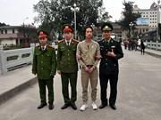 Vietnam entrega sospechoso fugitivo a China