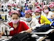 Camboya: crecimiento económico en 2018 podría alcanzar 6,9 por ciento