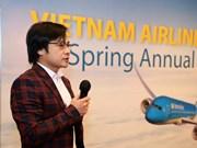 Vietnam Airlines en Hong Kong (China) impulsará cooperación con contrapartes internacionales