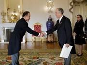Embajador vietnamita reitera deseo de fomentar amistad con Portugal