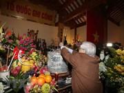 Homenajean a exdirigente del Partido Comunista de Vietnam