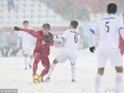 Gol de centrocampista Quang Hai votado como el mejor del Campeonato Asiático