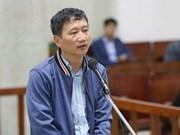 Fiscalía propone severo castigo contra Trinh Xuan Thanh por desfalco