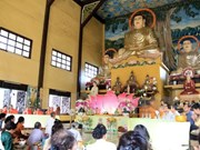 Vietnamitas en Laos se reúnen en ocasión del Año Nuevo Lunar