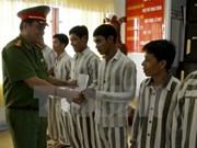 Tay Ninh: 691 prisioneros tienen términos reducidos en ocasión de Tet