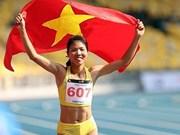 Deportista vietnamita gana oro en campeonato asiático de atletismo