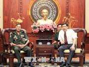 Ejército Real de Camboya  y Ciudad Ho Chi Minh robustecen cooperación